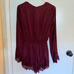 Kendall & Kylie Other - Kendall & Kylie Lace Romper